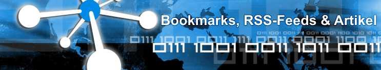 Bookmarks, RSS-Feeds und Artikel Verzeichnis